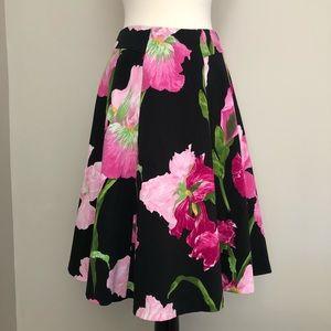 Carmen Marc Valvo Collection full Midi skirt